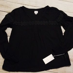 A New Day Black Blouse